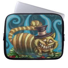 Cheshire Cat Laptop Computer Sleeves