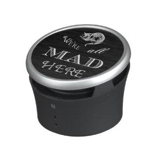 Cheshire Cat Mad Black Bluetooth Speaker