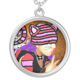 Cheshire Cat Custom Necklace