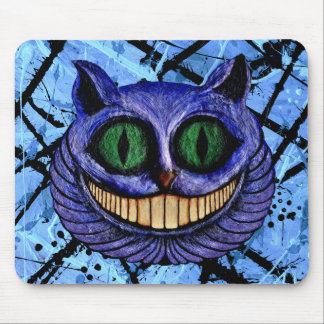 CHESHIRE CAT on TRUE BLUE ~ Mouse Pad