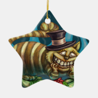 Cheshire Cat Ornament