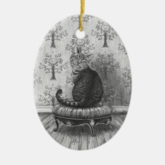 Cheshire Cat Ornament Alice in Wonderland Ornament