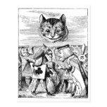 Cheshire Cat over Wonderland Postcard