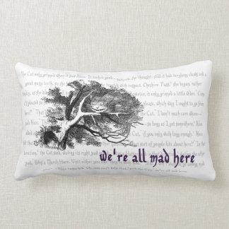 Cheshire Cat Throw Pillows