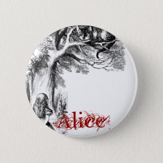 Cheshire Cat Pinback Button