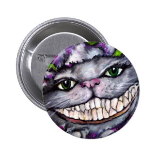 Cheshire Cat Pinback Buttons