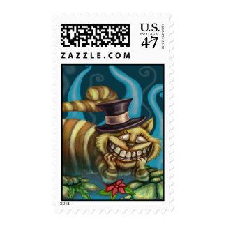 Cheshire Cat Postage
