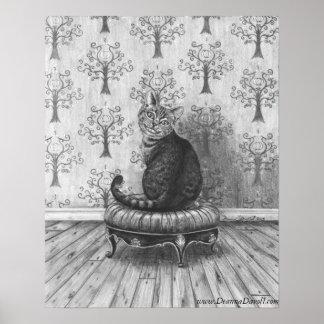 Cheshire Cat Poster Cheshire Cat Art Wonderland