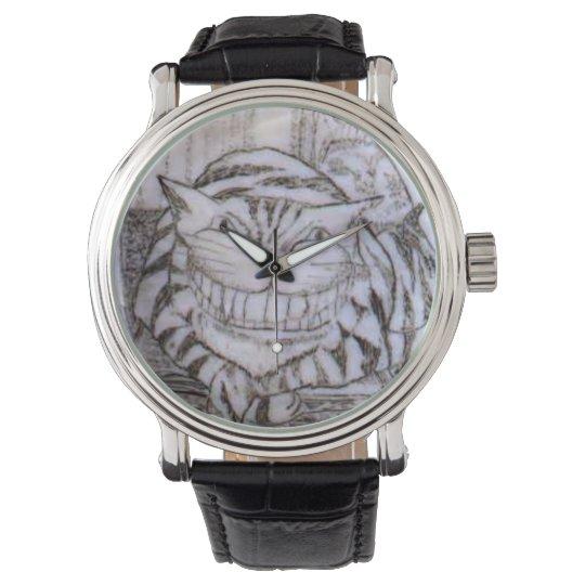 Cheshire Cat Scrimshaw Classic Watch Zazzlecom