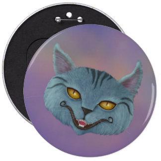 Cheshire Cat Smile Button