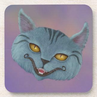Cheshire Cat Smile Cork Coaster