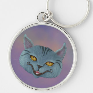 Cheshire Cat Smile Keychain