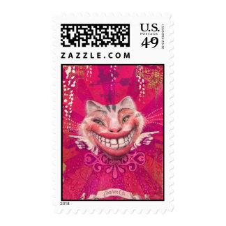 Cheshire Cat Stamp