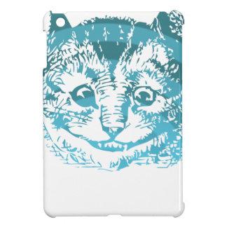 Cheshire Cat Striped Blue Cover For The iPad Mini