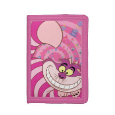 Cheshire Cat Tri-fold Wallet at Zazzle