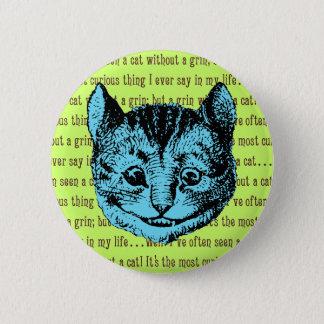 Cheshire Cat - Vintage Alice in Wonderland Button
