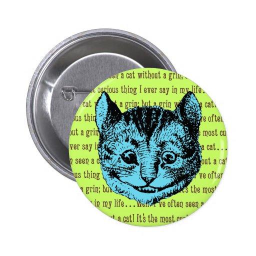 Cheshire Cat - Vintage Alice in Wonderland Pins
