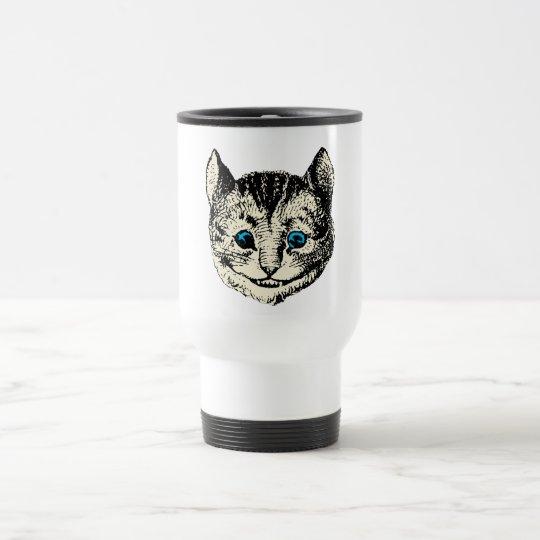 Cheshire Cat - Vintage Alice in Wonderland Travel Mug