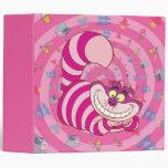 Cheshire Cat Vinyl Binder
