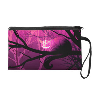 Cheshire Cat Wristlet - Pink