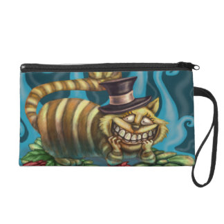 Cheshire Cat Wristlet Purse