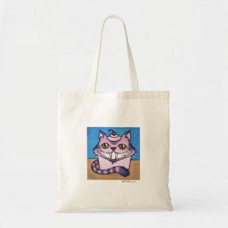 Cheshire Catcake Canvas Bags