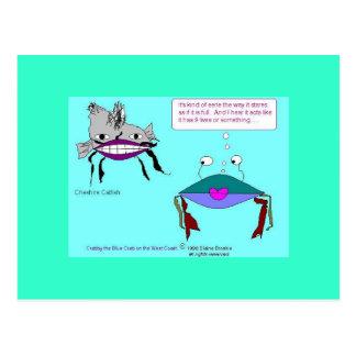 Cheshire Catfish Postcard