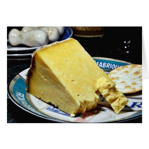 Cheshire Cheese Greeting Card