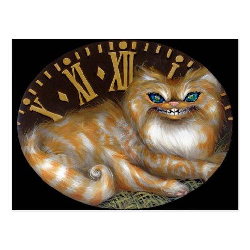 """Cheshire Clock"" Postcard"