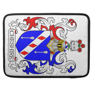 Cheshire Coat of Arms MacBook Pro Sleeve