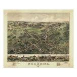Cheshire, Connecticut 1882 Print