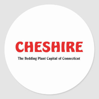 Cheshire, Connecticut Classic Round Sticker