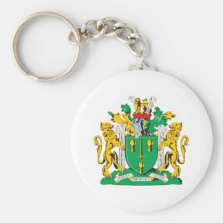 Cheshire County Coat of Arms Keychain