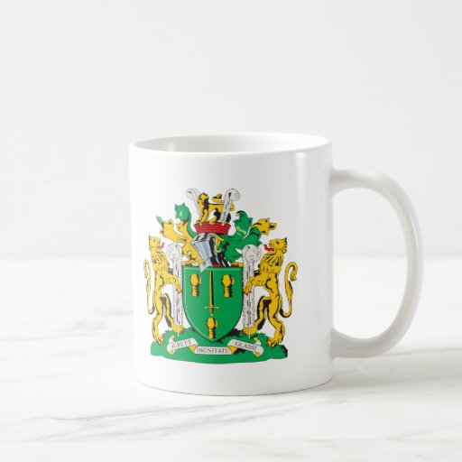 Cheshire County Coat of Arms Classic White Coffee Mug