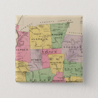 Cheshire County, NH Pinback Button