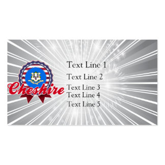 Cheshire, CT Double-Sided Standard Business Cards (Pack Of 100)