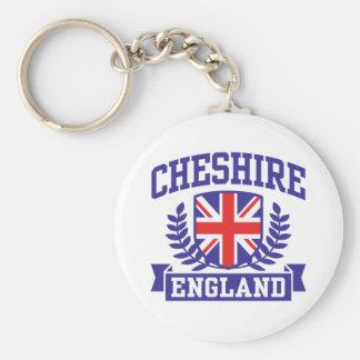 Cheshire England Keychain
