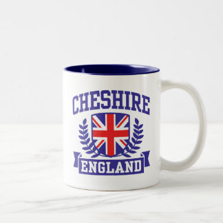 Cheshire England Two-Tone Coffee Mug