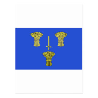 Cheshire Flag Postcard