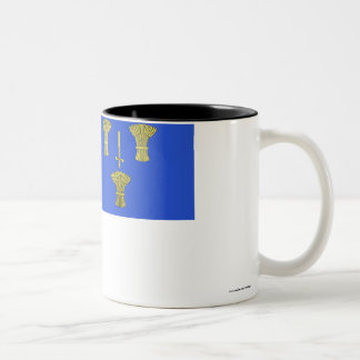 Cheshire Flag Two-Tone Coffee Mug