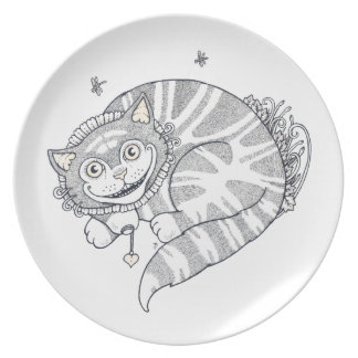 Cheshire Grin Art Plate