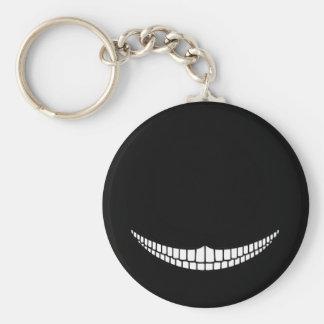 Cheshire Grin Basic Round Button Keychain