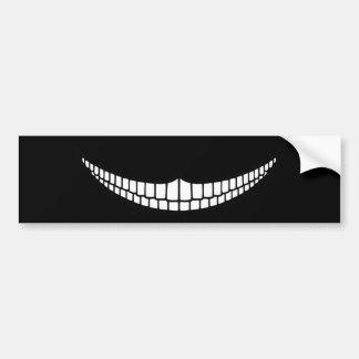 Cheshire Grin Bumper Stickers