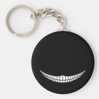 Cheshire Grin Keychain