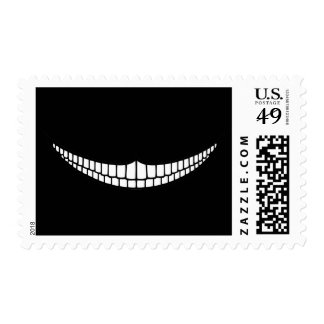 Cheshire Grin Stamp
