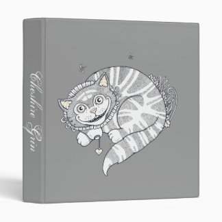 Cheshire Grin Ring Binder