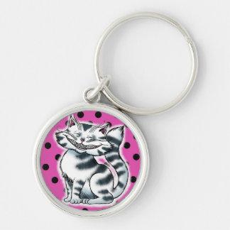 Cheshire Kitty Fashion Keychain
