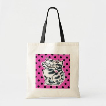 Beach Themed Cheshire Kitty Tote Bag
