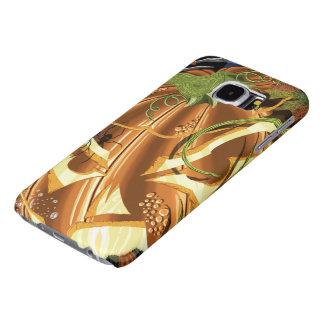 Cheshire Pumpkin Galaxy S6 Cases