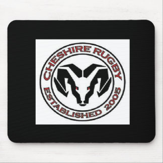 Cheshire Rugby Club Mouse Mats